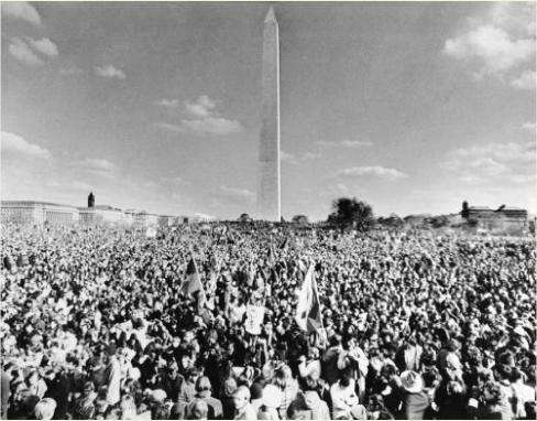 DB – the largest anti-war demonstration ever in the USA ...